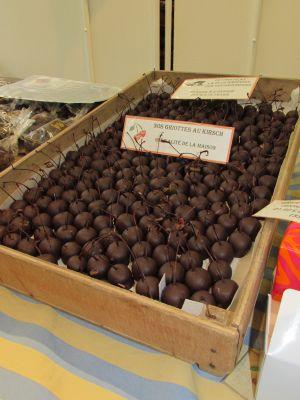Griottines kirch chocolat