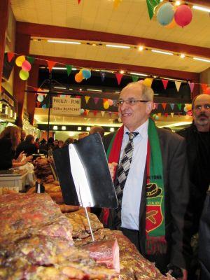 Monsieur le Maire du Val d'Ajol Jean Richard