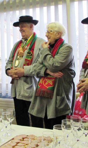 Président et Présidente d'Honneur