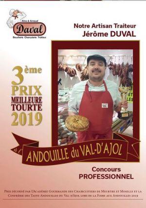 Concours Tourte À L\'andouilles(52)