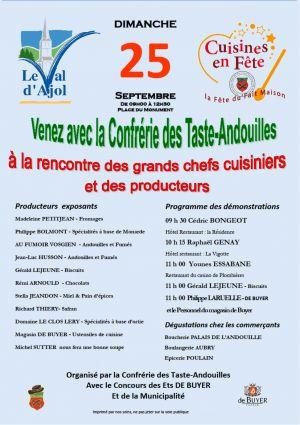 Cuisine En Fête 2016